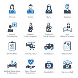 医疗&医疗保健象设置了1 -服务 免版税图库摄影