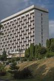 疗养院Rodnik在清早, Pyatigorsk,俄罗斯 免版税库存图片