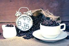 疯狂爱上咖啡 免版税库存图片
