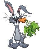 疯狂的兔子 皇族释放例证