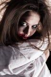 疯狂的哀伤的妇女 库存图片