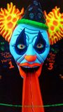 疯狂的小丑 库存图片