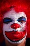 疯狂的小丑 免版税图库摄影