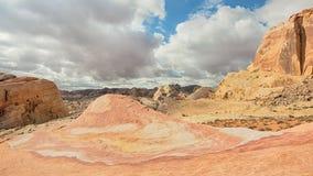 疯狂的岩石,火国家公园, NV谷  库存照片