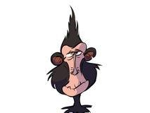疯狂的猴子 皇族释放例证