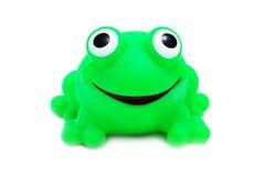 疯狂的青蛙查出的玩具 图库摄影