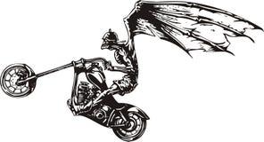 疯狂的骑自行车的人 库存照片