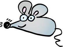 疯狂的鼠标 免版税库存照片