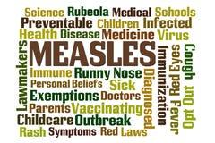 麻疹 库存图片