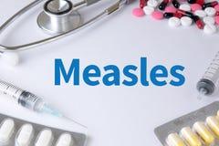 麻疹 免版税库存图片