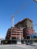 病区村庄的豪华公寓房Anaha建设中在Kakaako 库存照片