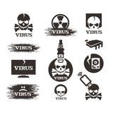 病毒。传染媒介格式 库存照片