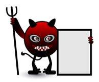 病毒动画片例证 免版税库存图片