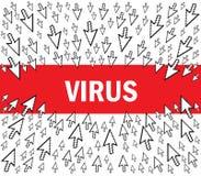 病毒 向量例证