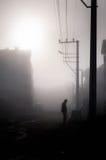 刻痕薄雾在国家土耳其 免版税库存图片