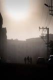 刻痕薄雾在国家土耳其 图库摄影