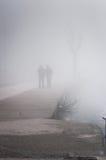 刻痕薄雾在国家土耳其 免版税图库摄影