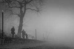 刻痕薄雾在国家土耳其 免版税库存照片