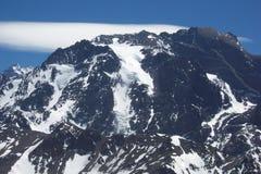 瘸的人的冰川 免版税库存图片