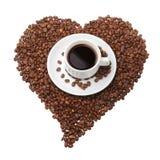 瘾咖啡 库存照片