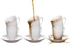 瘾咖啡 免版税图库摄影