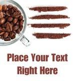 瘾最坏情况咖啡 库存照片