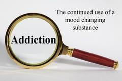 瘾概念 免版税库存照片
