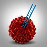 癌症研究标志 免版税图库摄影