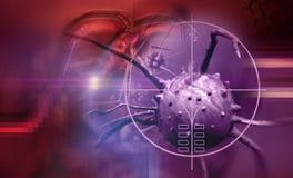 癌细胞 库存照片