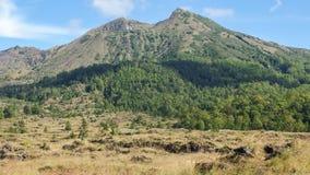 登上Batur看法在巴厘岛 库存图片