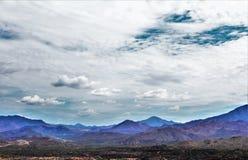 登上Ord,阿帕契县,亚利桑那,美国 库存照片