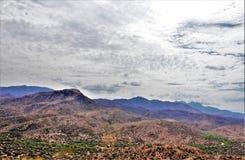 登上Ord,阿帕契县,亚利桑那,美国 库存图片