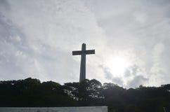 登上Samat全国寺庙 巴丹省菲律宾 免版税库存图片