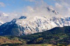 登上Sneffels控制圣胡安山的风景 免版税图库摄影