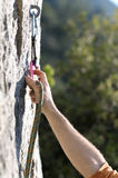 登山人一 免版税库存照片