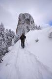 登山 免版税图库摄影