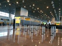 登机门在圣保罗机场 免版税库存照片