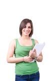 登记女学生 免版税库存图片