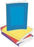 登记平装书 向量例证