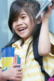 登记新的学校 免版税图库摄影
