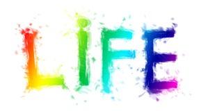 登记生活 向量例证
