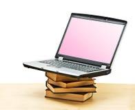 登记笔记本堆 免版税库存图片