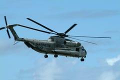 登陆的海军陆战队员 免版税库存照片