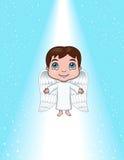 登高的天使 图库摄影