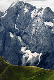白云岩在夏天 免版税库存照片