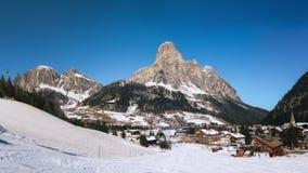 白云岩山脉,南蒂罗尔,意大利 免版税图库摄影