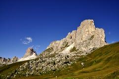 白云岩横向 图库摄影