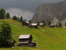 白云岩的阿尔卑斯 免版税图库摄影