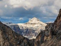 白云岩阿尔卑斯意大利 库存照片