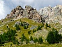 白云岩阿尔卑斯意大利 免版税库存图片